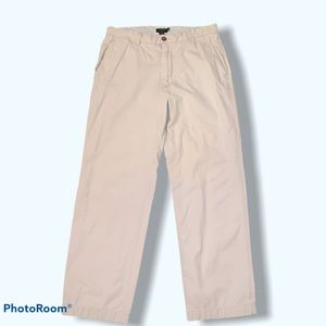 J. Crew Men Khaki Pants Straight Leg Size 32/30